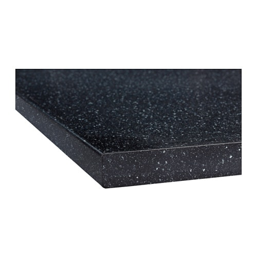 S ljan worktop black mineral effect 186x3 8 cm ikea - Plan de travail ikea ...