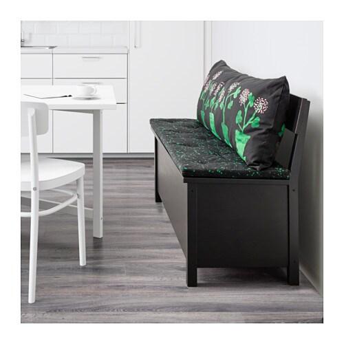 s llskap sofa bench with storage black ikea. Black Bedroom Furniture Sets. Home Design Ideas