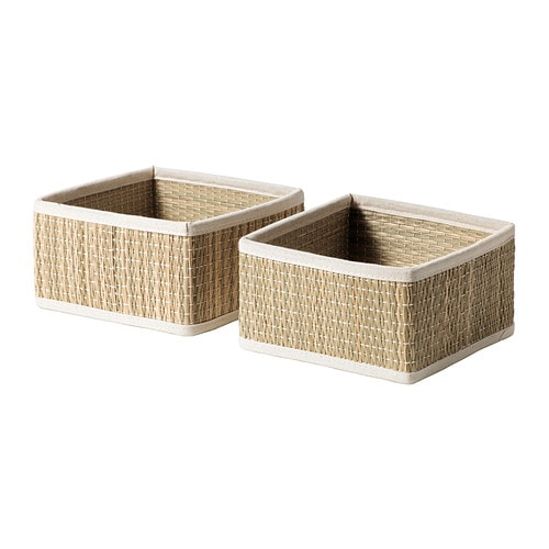 IKEA SÅLNAN basket Seagrass has natural colour variations which makes every basket unique.