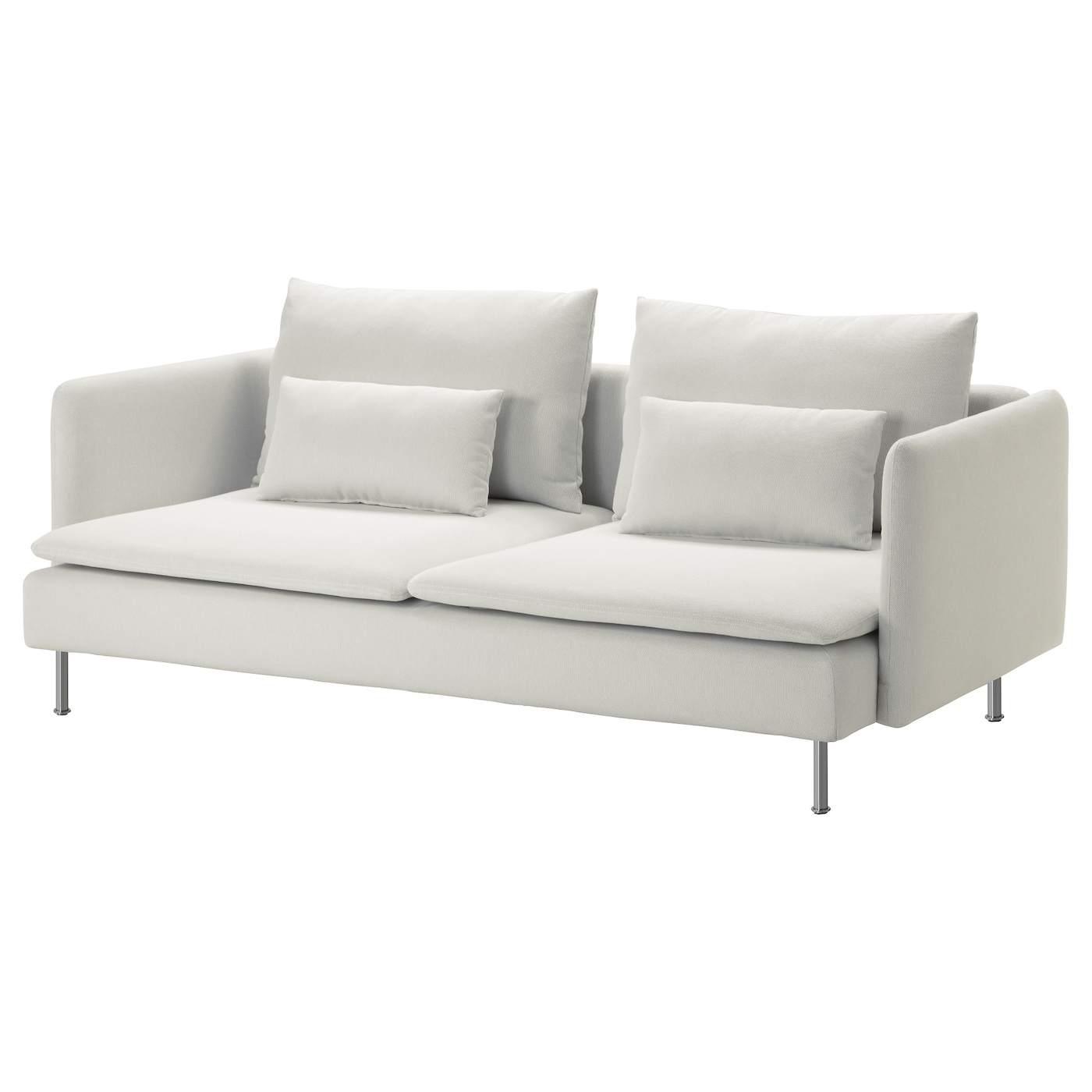 IKEA SÖDERHAMN 3-seat sofa 10 year guarantee. Read about the terms in the guarantee brochure.