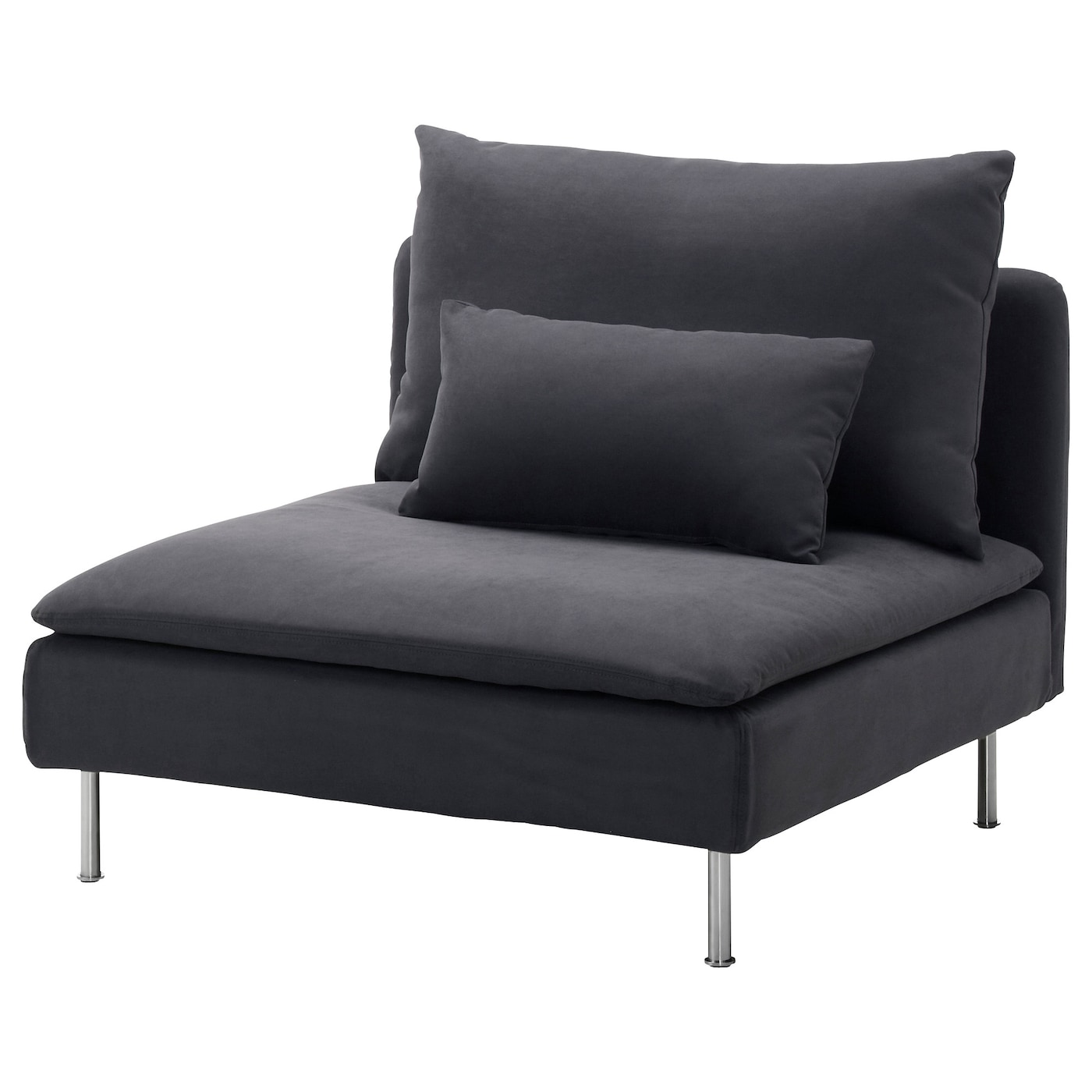 Schlafsessel design  SÖDERHAMN One-seat section Samsta dark grey - IKEA