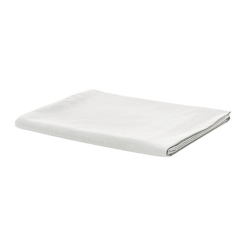 IKEA SÖMNIG sheet Extra soft and durable quality since the bedlinen is densely woven from fine yarn.