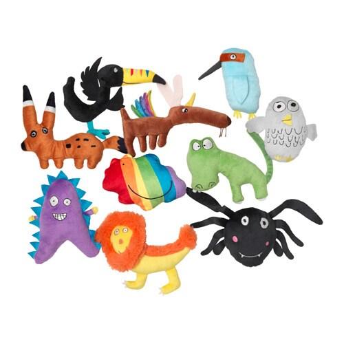 Soft Toys For Toddlers Religious : Sagoskatt soft toy multicolour ikea