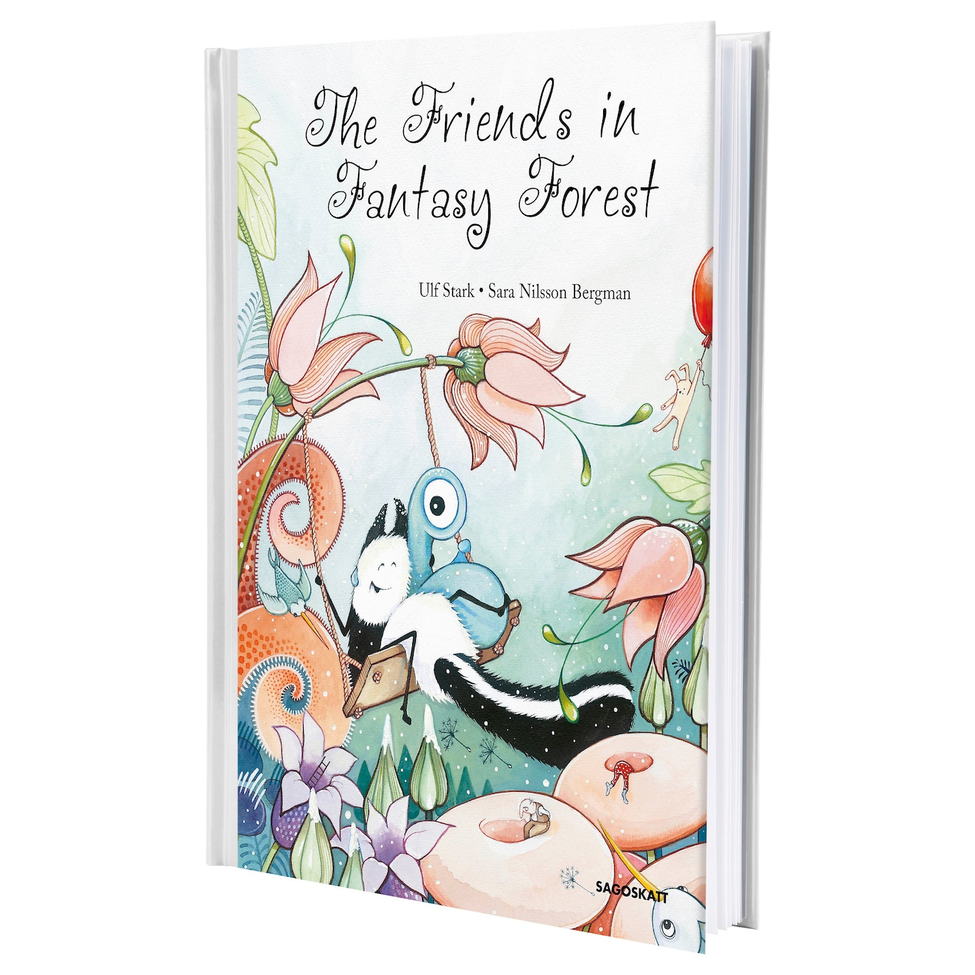 IKEA SAGOSKATT - THE FRIENDS IN FANTASY book