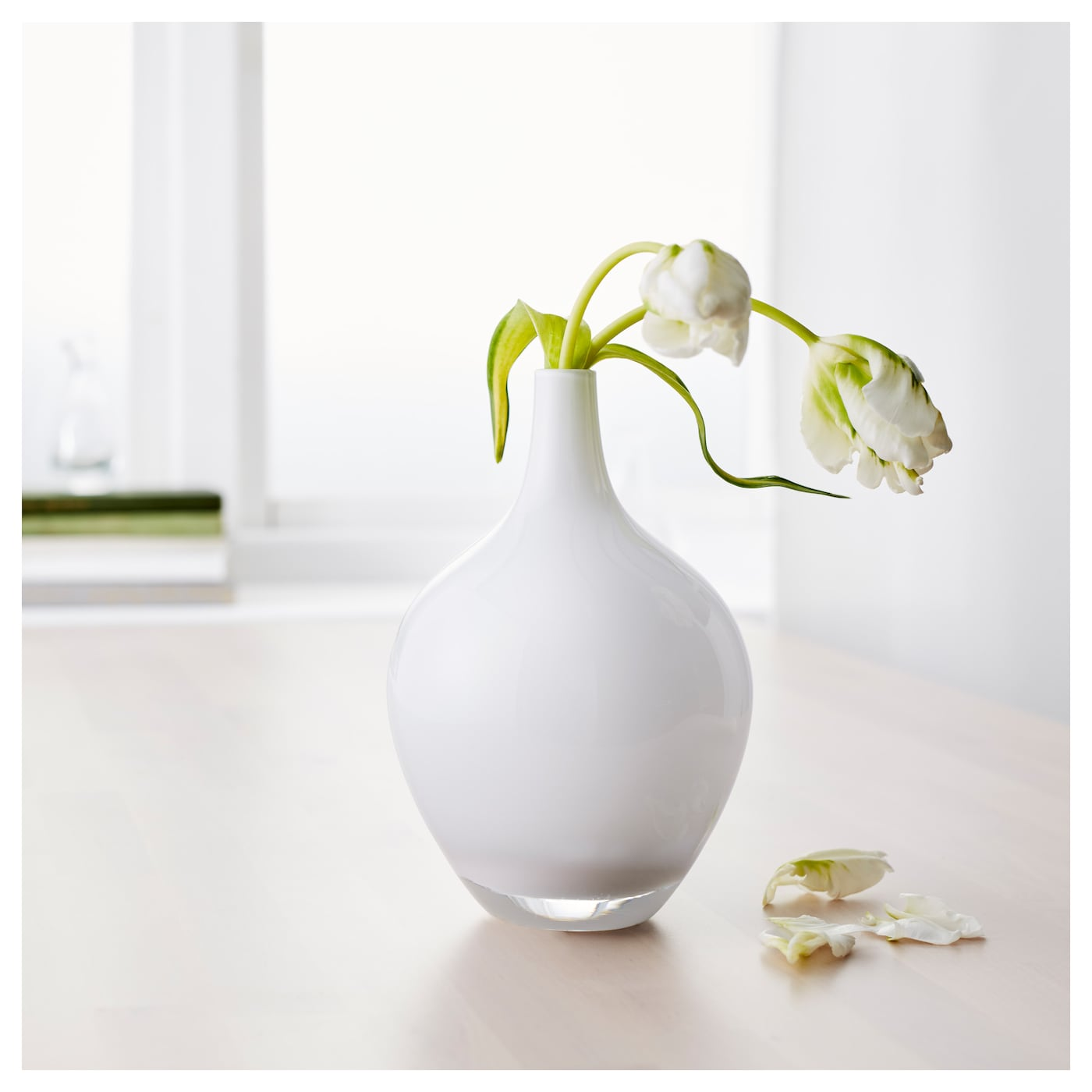 salong vase white 20 cm ikea. Black Bedroom Furniture Sets. Home Design Ideas