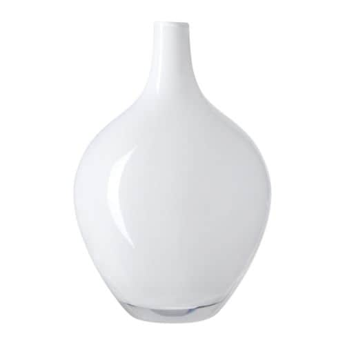 SALONG Vase IKEA Mouth blown; each vase has been shaped by a skilled craftsman.