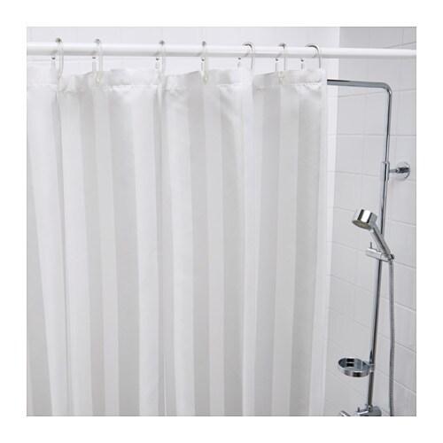 saltgrund shower curtain white 180x180 cm ikea. Black Bedroom Furniture Sets. Home Design Ideas