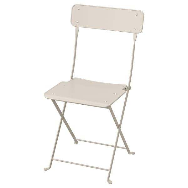 Sensational Chair Outdoor Saltholmen Foldable Beige Pdpeps Interior Chair Design Pdpepsorg