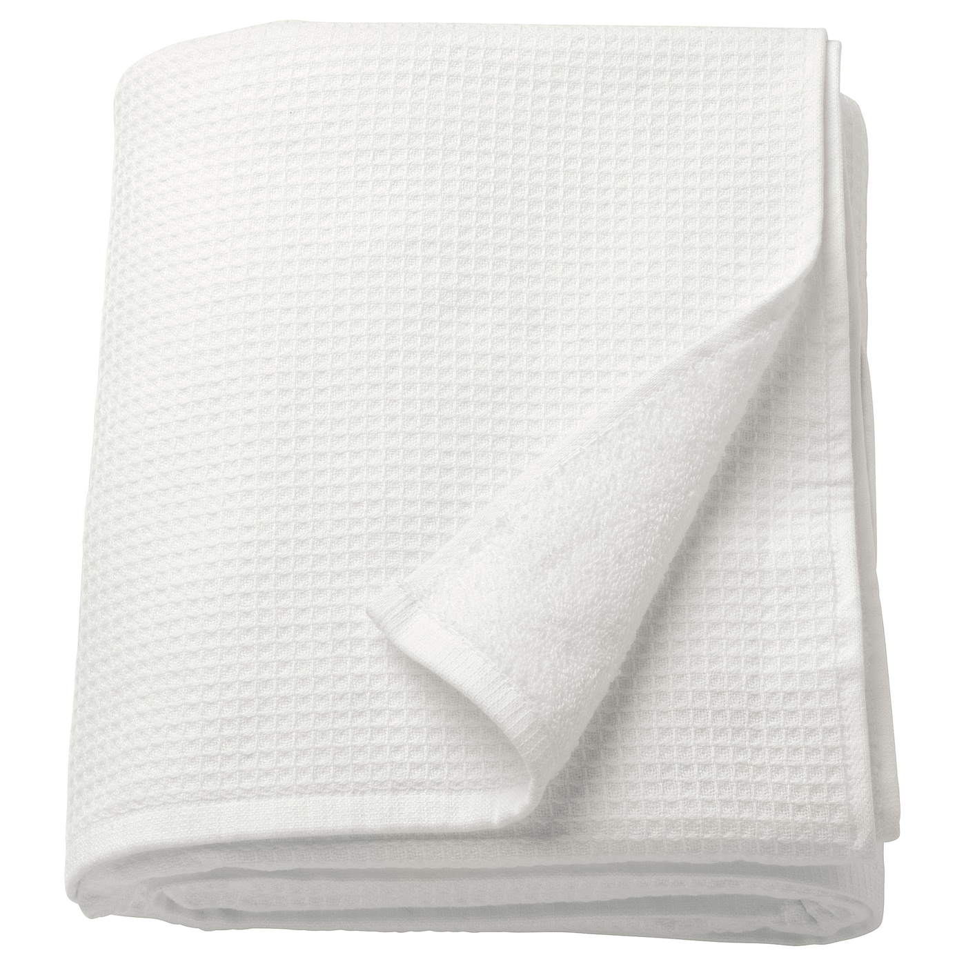 IKEA SALVIKEN bath sheet A soft cotton towel with good absorption capacity.