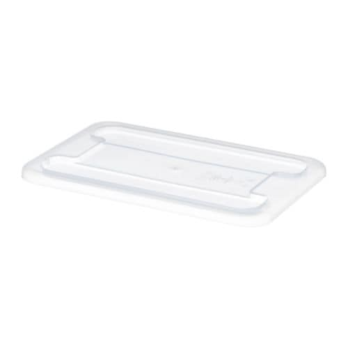 SAMLA Lid for box 5 l IKEA The lid protects your stored items and also makes the box stackable.