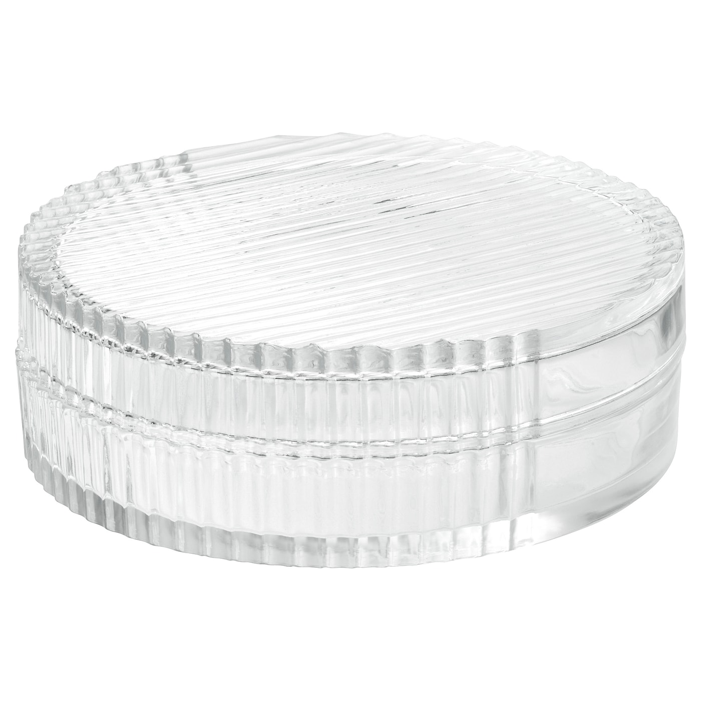 IKEA SAMMANHANG glass box with lid