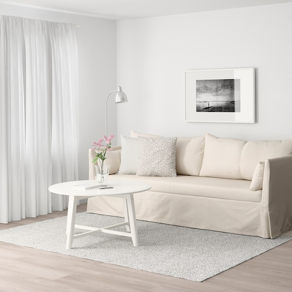 SANDBACKEN 3-seat sofa, Ransta natural
