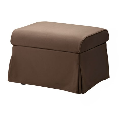 SANDBY Cover footstool IKEA Easy to keep clean; removable, machine washable cover.