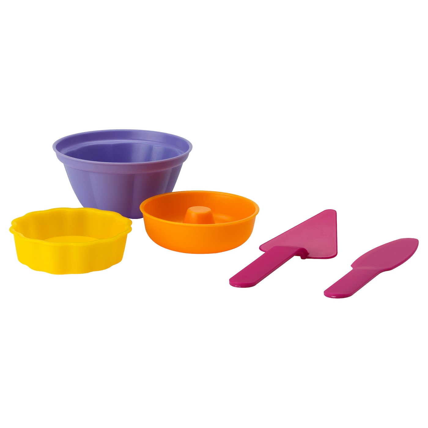 IKEA SANDIG 5-piece toy baking set