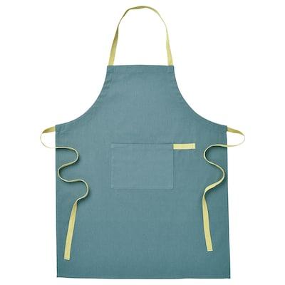 SANDVIVA Apron, blue, 69x85 cm
