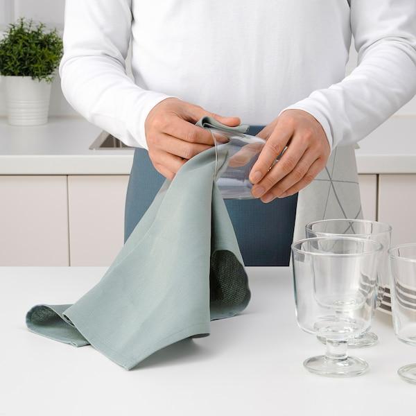 SANDVIVA Tea towel, blue, 40x60 cm