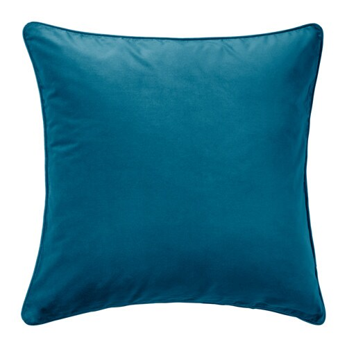 SANELA Cushion Cover Dark Turquoise 65x65 Cm IKEA