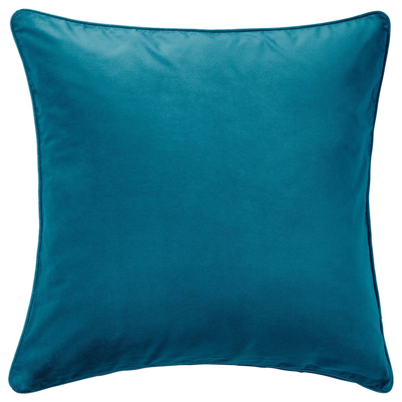 IKEA SANELA cushion cover Cotton velvet gives depth to the colour and softness to the touch.