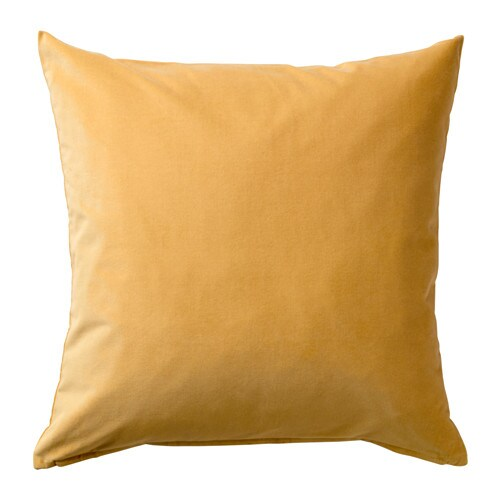 Sanela Cushion Cover Golden Brown 50 X 50 Cm Ikea