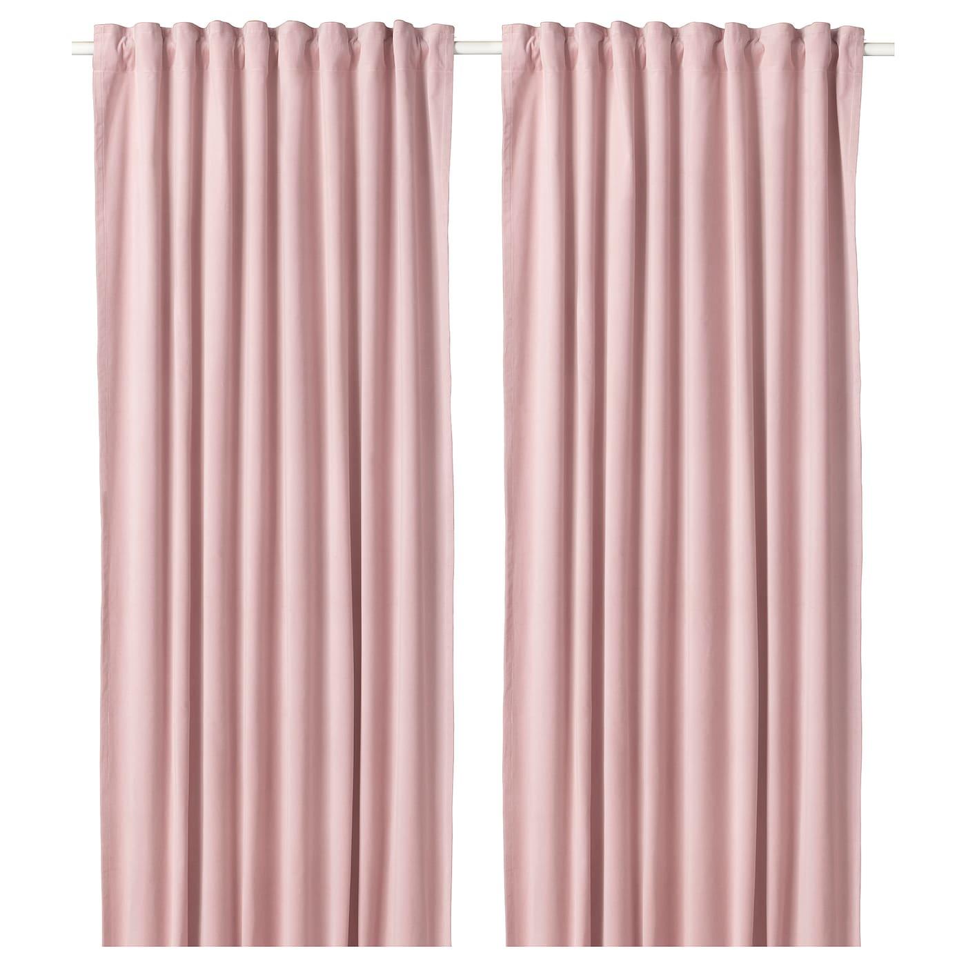 Sanela Light Pink Room Darkening