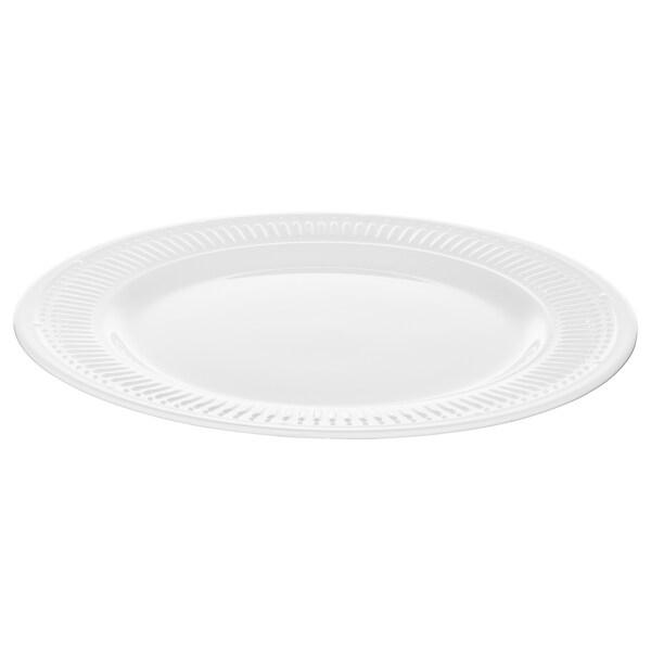 SANNING plate white 27 cm