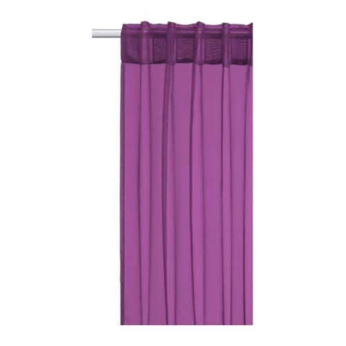 SARITA Sheer curtains, 1 pair IKEA