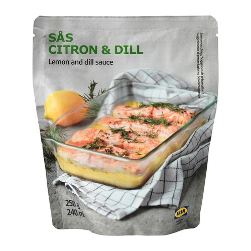 SÅS CITRON & DILL Lemon- and dill sauce IKEA