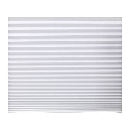 IKEA SCHOTTIS pleated blind Easy to attach to your window frame. No drilling needed.