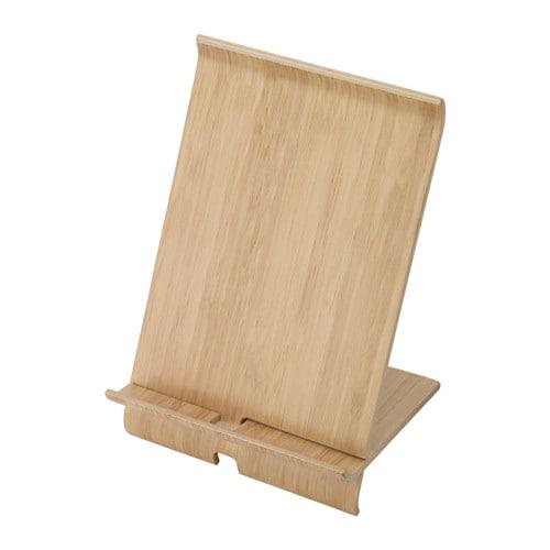 Sigfinn holder for mobile phone bamboo veneer ikea for Bauanleitung cd sta nder