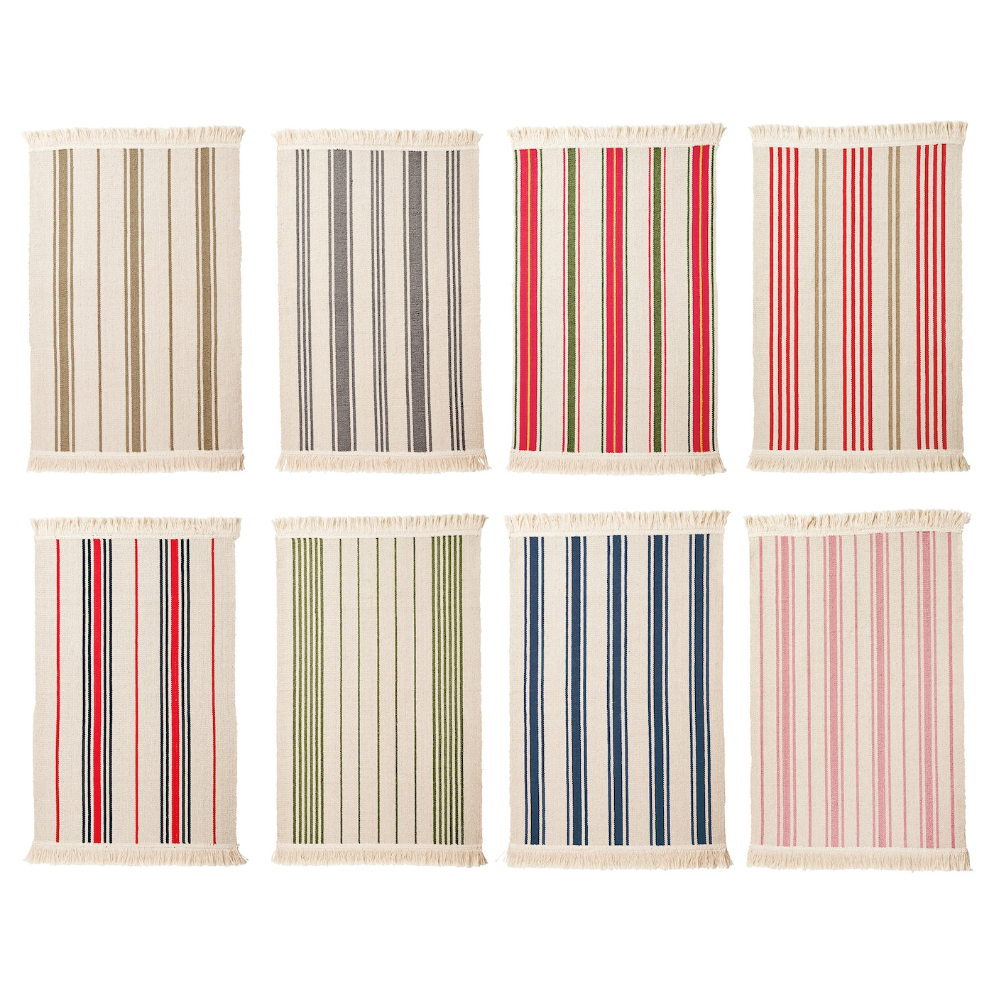 SIGNE Rug flatwoven Assorted colours 55x85 cm IKEA