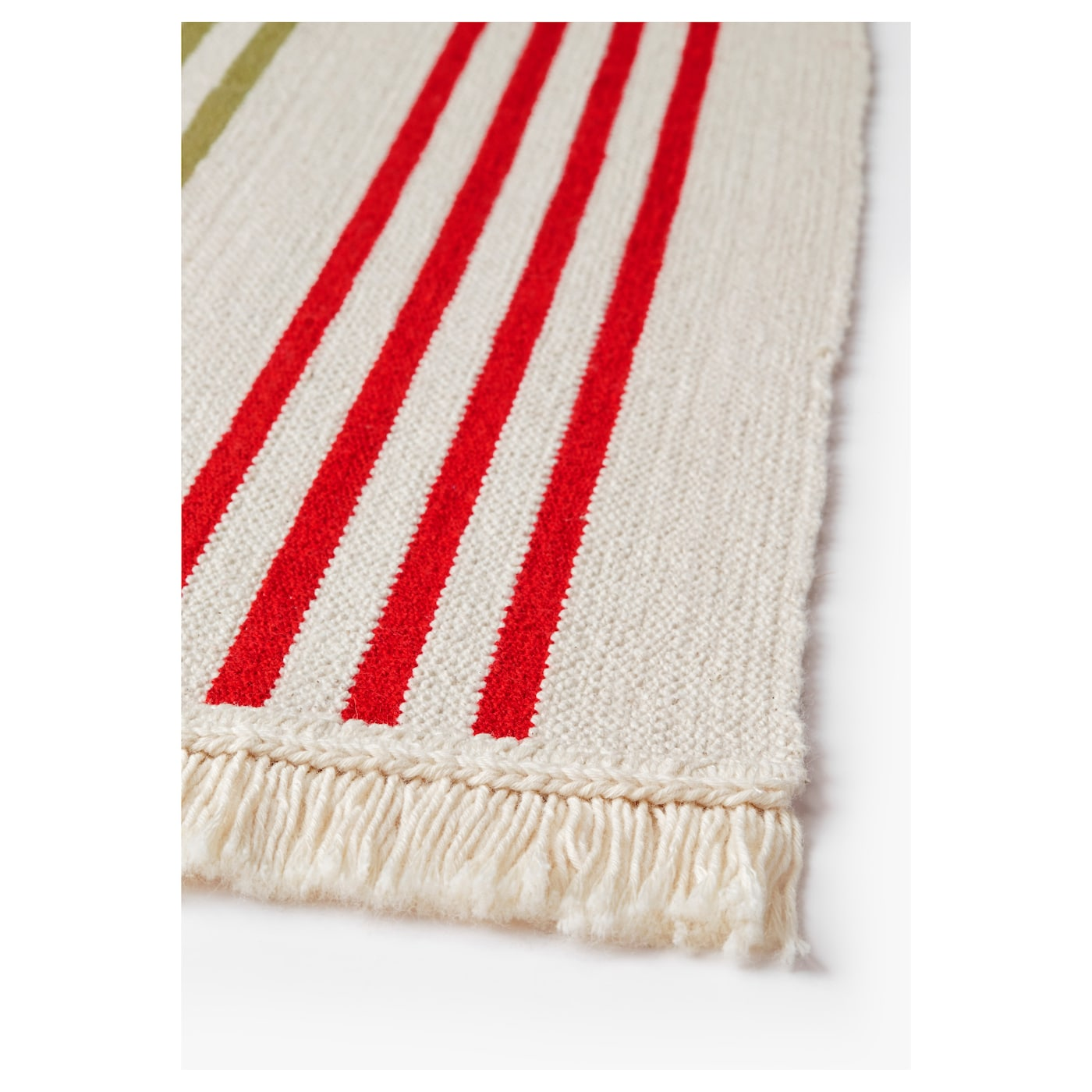 IKEA SIGNE rug, flatwoven Easy to keep clean since it is machine washable.