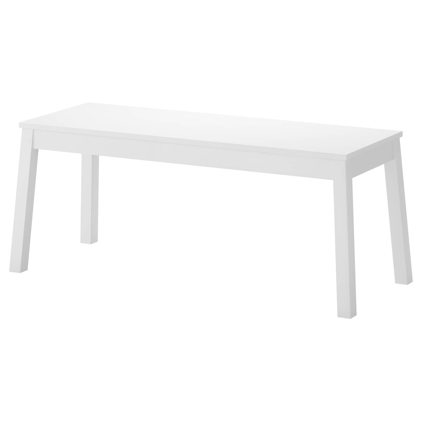 sigurd bench white 110 cm ikea. Black Bedroom Furniture Sets. Home Design Ideas