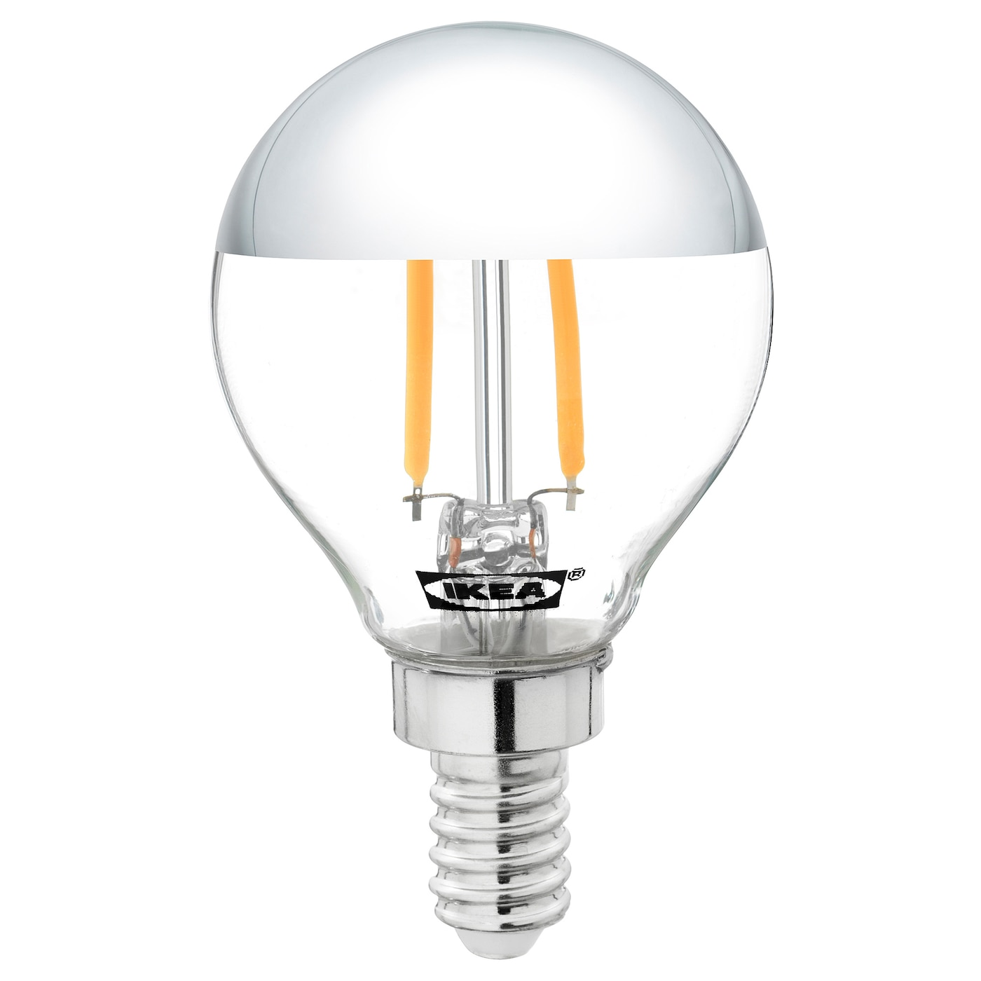IKEA SILLBO LED bulb E14 140 lumen Spreads a warm and decorative light.