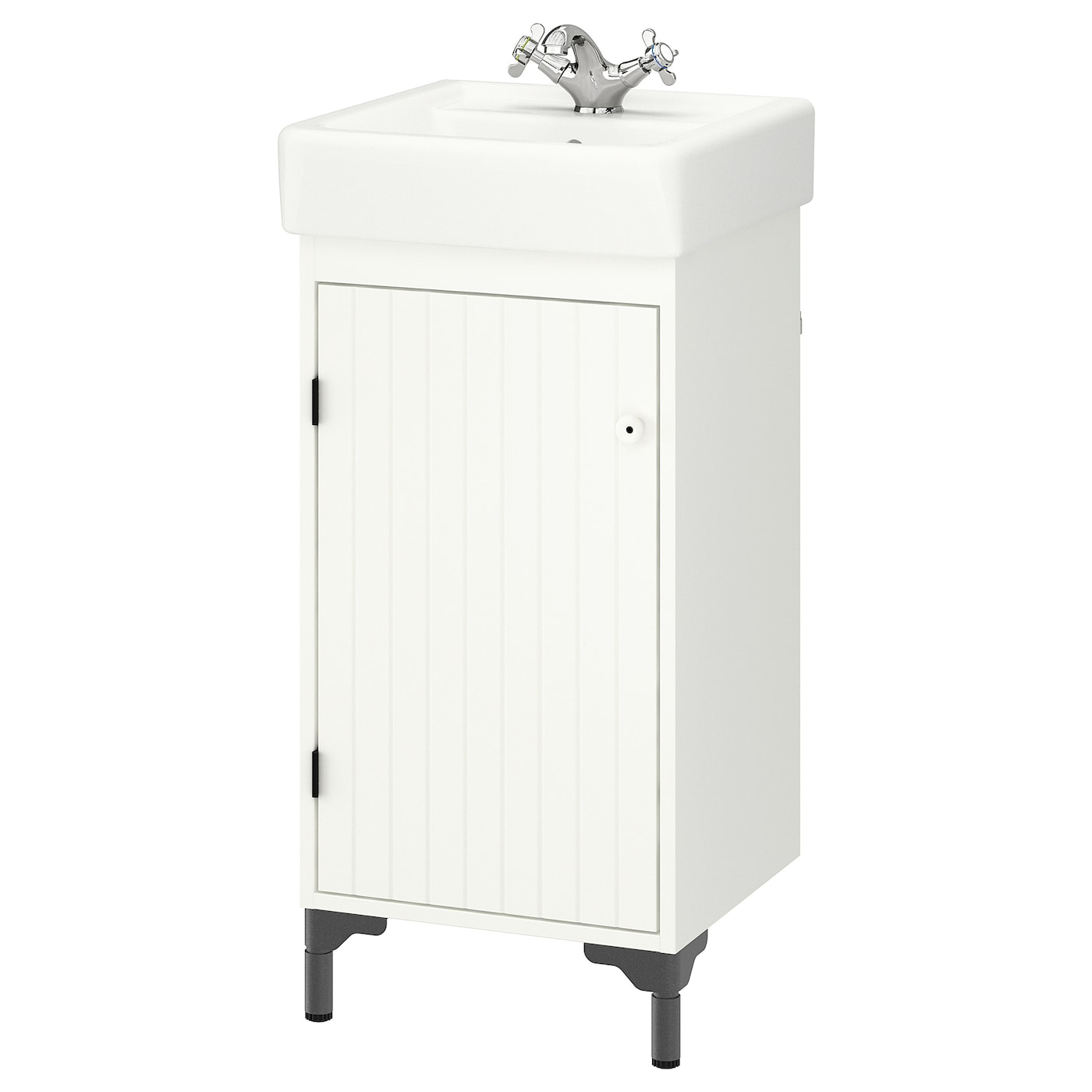IKEA SILVERÅN/HAMNVIKEN wash-basin cabinet with 1 door A good solution if you are short of space.