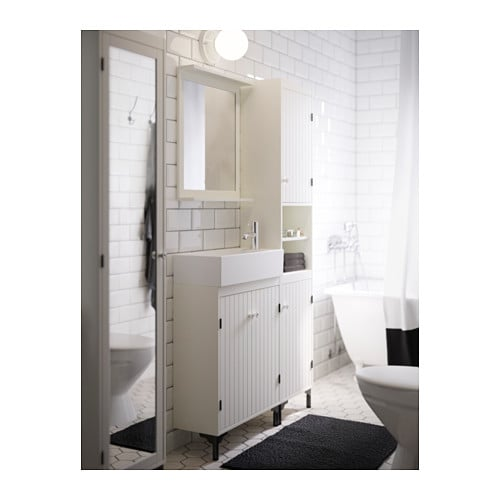 Lillangen kast ikea : Silver?n lill?ngen wash basin cabinet with doors white