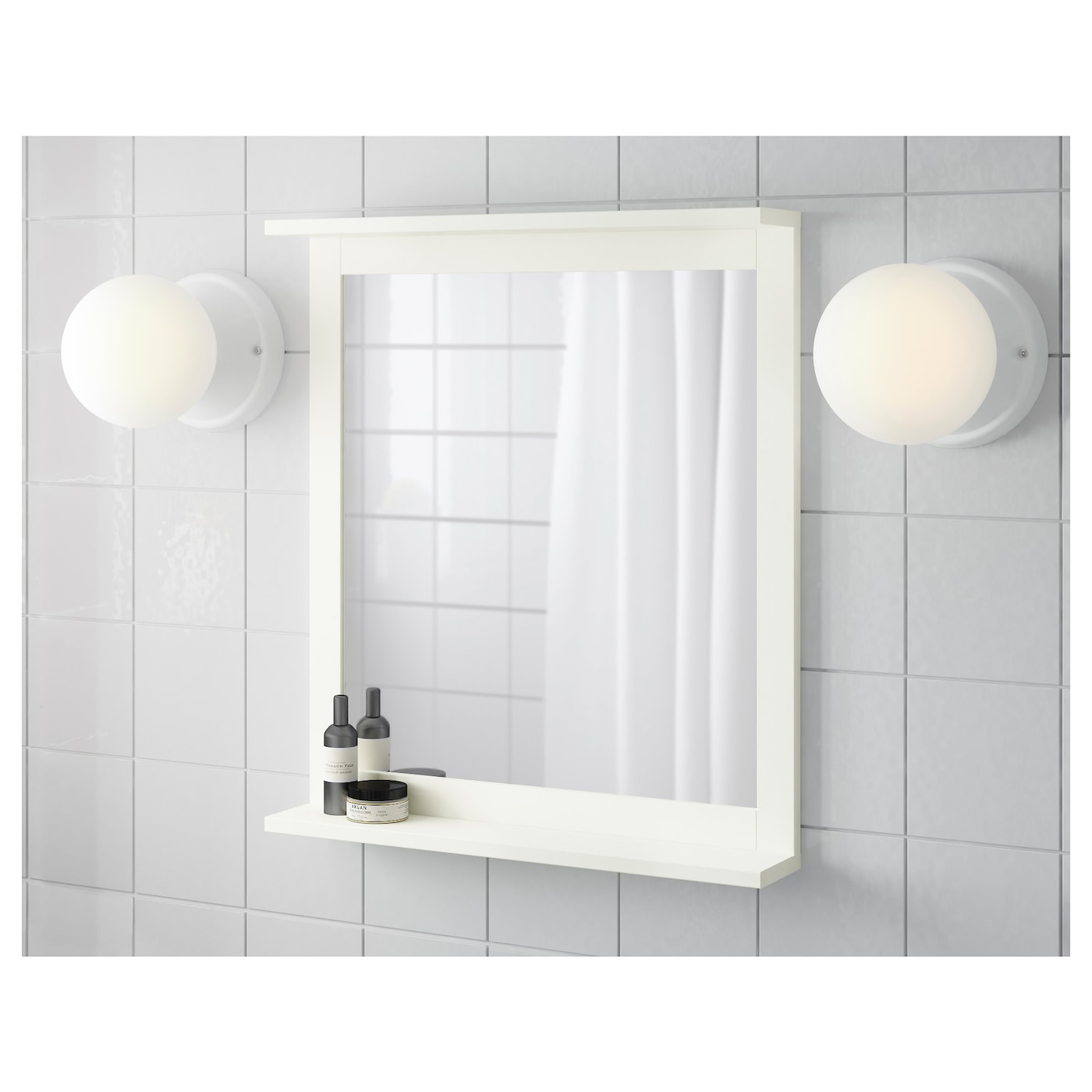 ikea bathroom mirror with shelf silver 197 n mirror with shelf white 56 x 64 cm ikea 23511