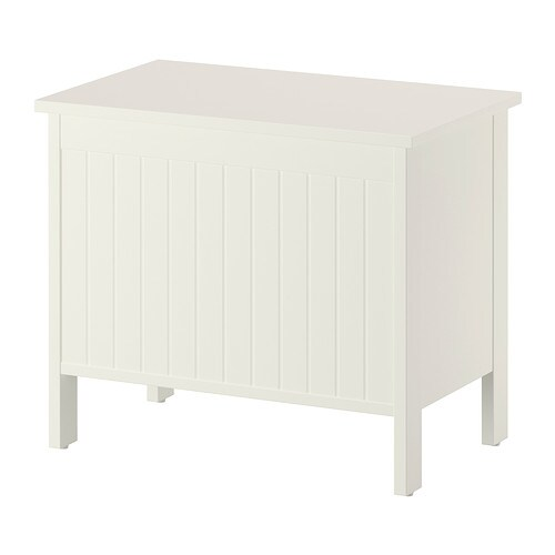 Awesome IKEA SILVERÅN Storage Bench A Good Solution If You Are Short Of Space.