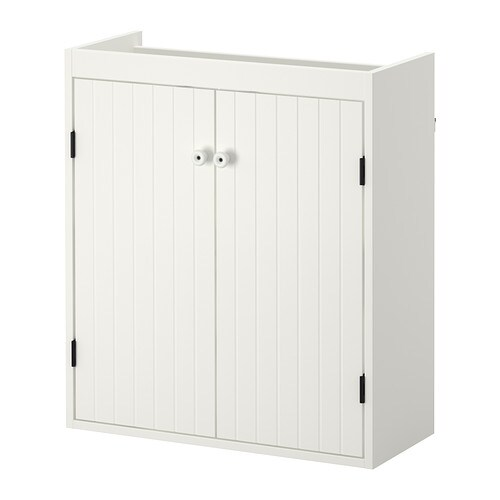IKEA SILVERÅN wash-basin cabinet with 2 doors