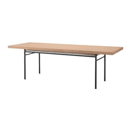 IKEA SINNERLIG dining table Cork is a natural material giving variations in colour and appearance.