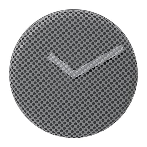 IKEA SIPPRA wall clock Highly accurate at keeping time as it is fitted with a quartz movement.
