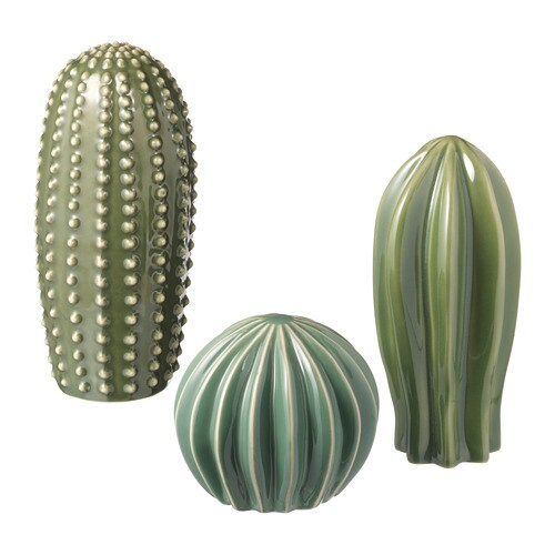 sjÄlsligt decoration set of 3 green ikea
