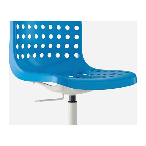 IKEA SKÅLBERG/SPORREN swivel chair You sit comfortably since the chair is adjustable in height.