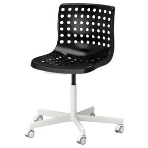 Superb Skalberg Sporren Swivel Chair Black Ikea Short Links Chair Design For Home Short Linksinfo