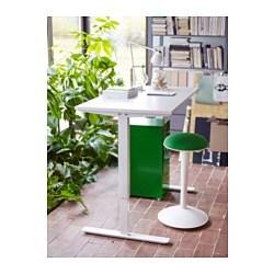 skarsta desk sit stand white 160x80 cm ikea. Black Bedroom Furniture Sets. Home Design Ideas