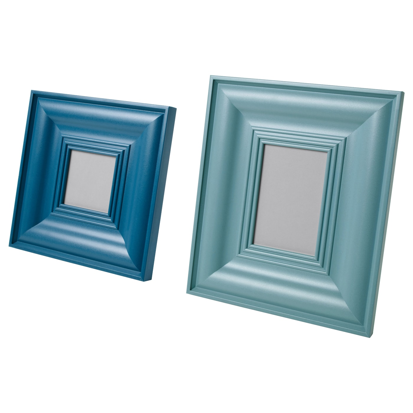 IKEA SKATTEBY frame, set of 2 Front protection in plastic makes the frame safer to use.