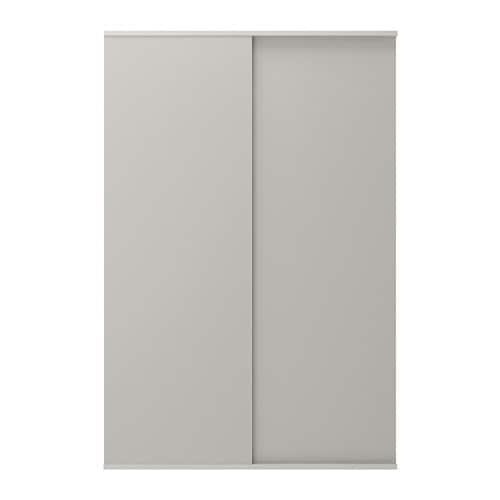 IKEA SKATVAL Sliding Door With Rail