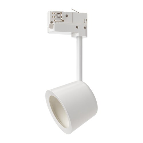 IKEA SKENINGE LED spotlight Directional light allows you to highlight a picture or other objects.