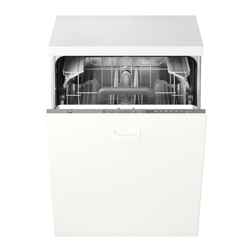 IKEA SKINANDE integrated dishwasher A muffled sound signal indicates when a program is finished.