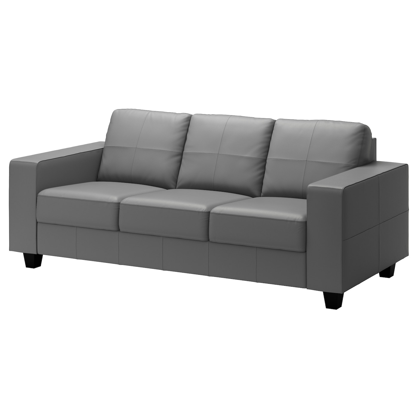 skogaby three seat sofa glose bomstad grey ikea. Black Bedroom Furniture Sets. Home Design Ideas