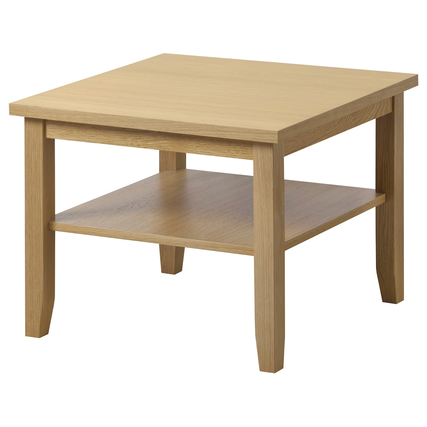 Skoghall coffee table oak 55x55 cm ikea Side and coffee tables